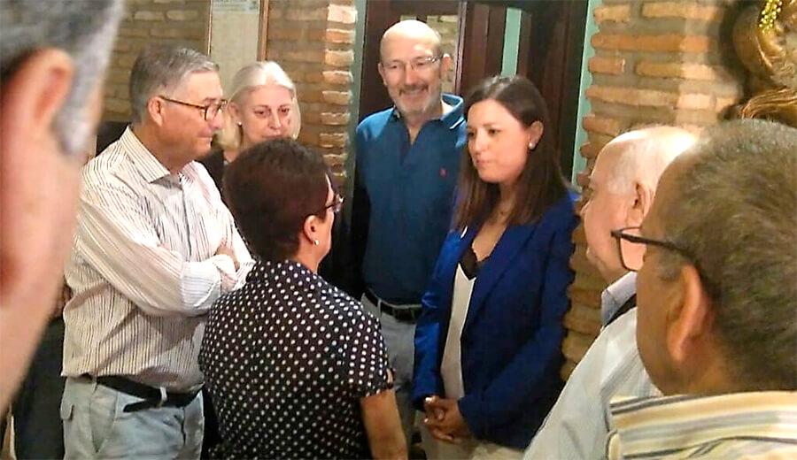 La Alcaldesa de San Fernando se compromete a ceder un local a nuestra delegación de San Fernando