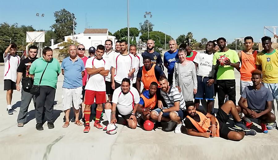 Fútbol por la inclusión: Encuentro entre Salud Mental y Migración