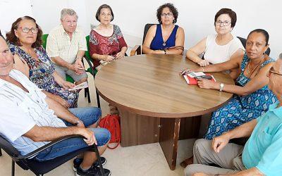 Reunión con la Concejala de Servicios Sociales del Ayuntamiento de Sanlúcar