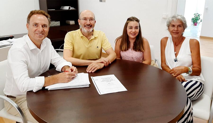 AFEMEN plantea a la Diputación Provincial sus necesidades para la Sierra de Cádiz