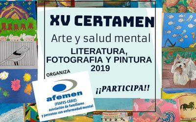 XV Certamen Literatura, Fotografía y Pintura, de ámbito provincial