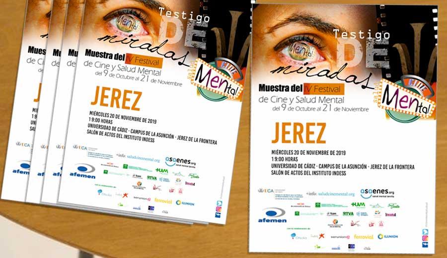 Jerez acoge el próximo miércoles día 20 la Muestra del IV Festival Internacional de Cortos y Salud Mental