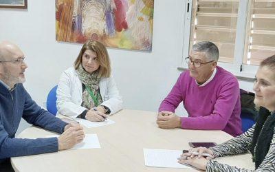 Reunión con la Directora Gerente del Hospital del SAS de Jerez