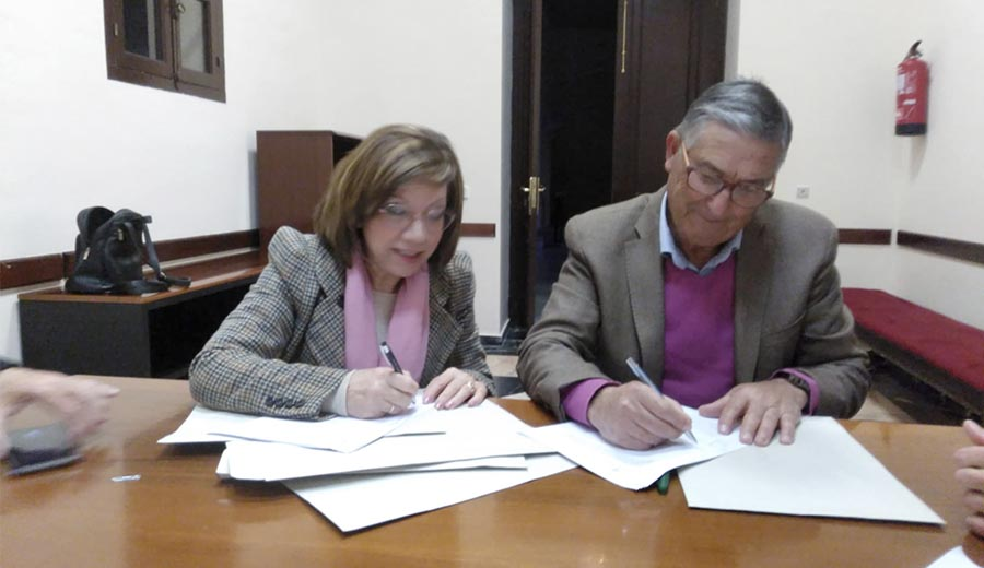 El Ayuntamiento de Jerez renueva su colaboración con AFEMEN