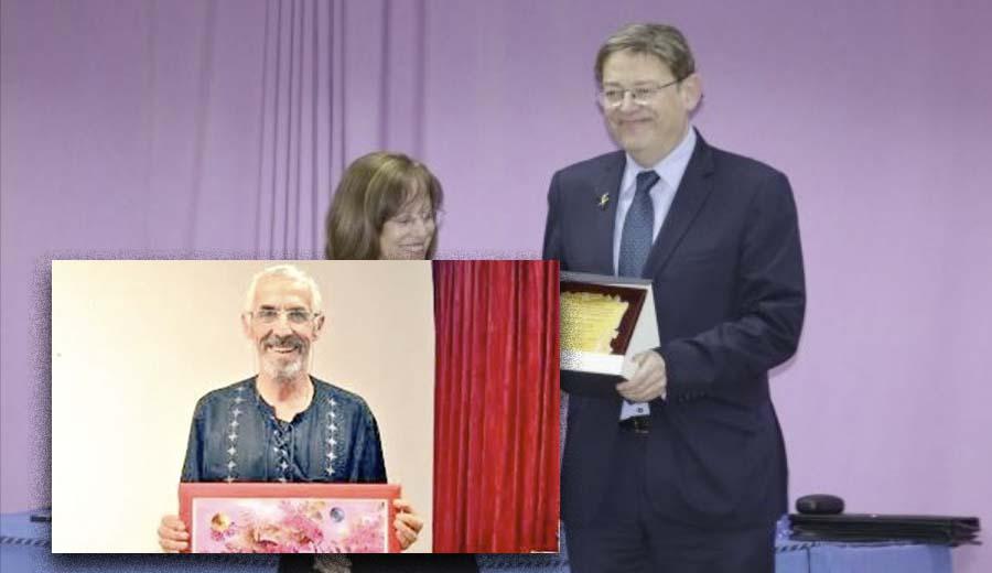 Antonio Manuel Lucena, ganador del tercer premio de relatos del Ateneo Blasco Ibáñez