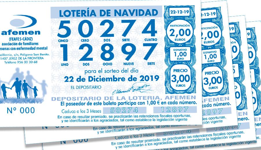 Ya tenemos lotería de Navidad ¡!