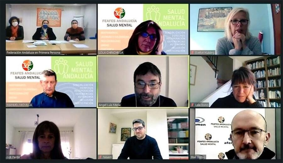 Reunión telemática del Grupo de Sensibilización «1decada4»
