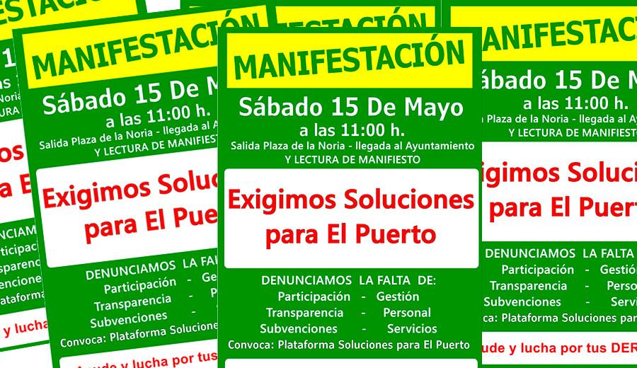 Sábado 15 de mayo a las 11:00 h Manifestación en El Puerto de Santa María por impago del Ayuntamiento