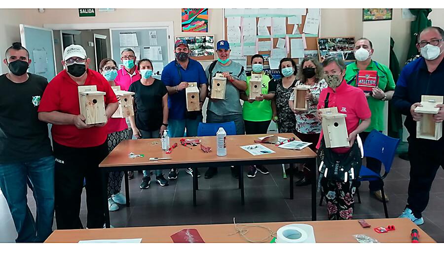 AFEMEN participa en el proyecto SOS gorriones