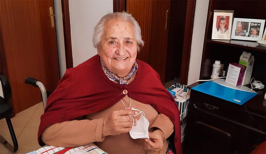 NOS DEJA OTRA PIONERA DE AFEMEN. HA FALLECIDO MARÍA PÉREZ. DESCANSE EN PAZ