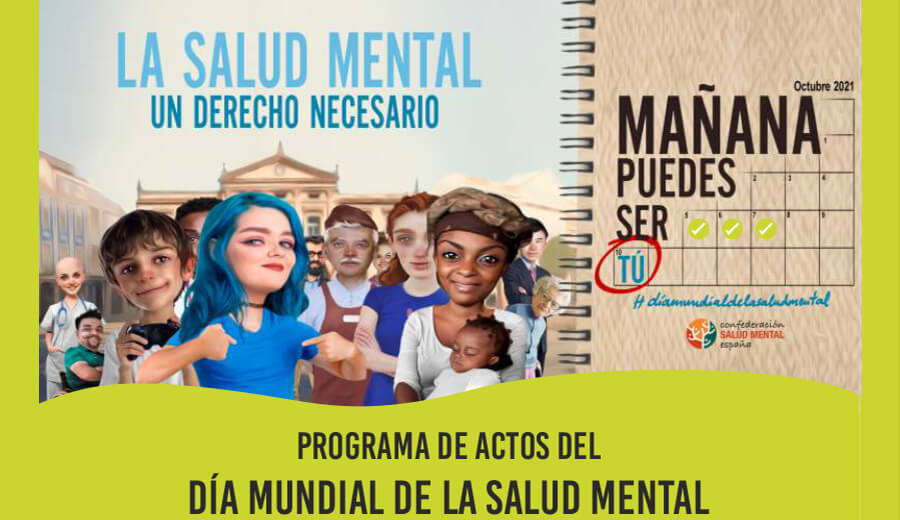 Programa de actos del día Mundial de la Salud Mental